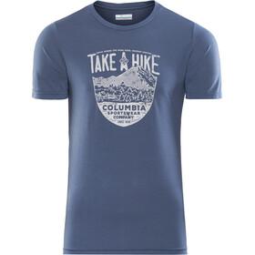 Columbia Laney Hill - T-shirt manches courtes Homme - bleu